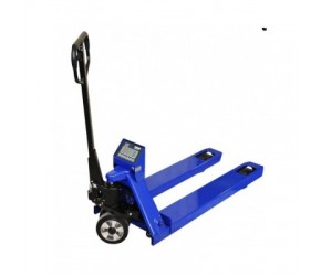 Pallet truck with weight KPZ 71-9DR with thermal printer, 2,2 t