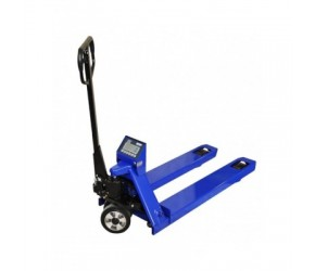 Long pallet truck with weight scale KPZ 71-9, 1,8 m, 2,2 t