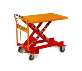Mobile lifting table mechanical BS30D 300kg