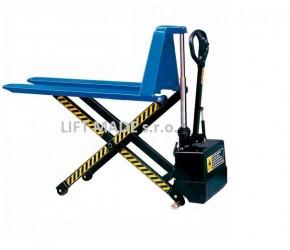 Nůžkový paletový vozík elektrický JE5210 s vysokým čelem, 1t,