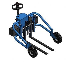 All terrain pallet truck TNE 1200/1200 AC / 1500