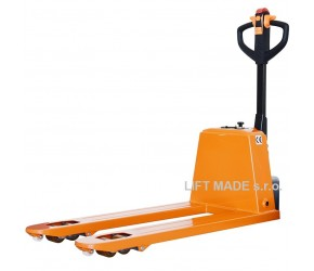Electric pallet truck PT-15EHJ, 1.5t (manual lift)